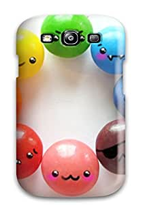 ElsieJM Scratch-free Phone Case For Galaxy S3- Retail Packaging - Rainbow Love By The-cute-storm