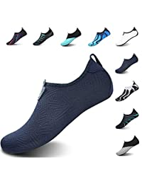 JOINFREE Water Shoes Aqua Socks for Women Men Water Socks Swimming Shoes Water Exercise Shoes Beach Shoes Quick-Dry Barefoot
