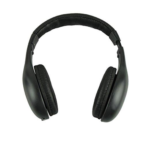 Cigou5IN1 Wireless Headphone Casque Audio Sans Fil Ecouteur Hi-Fi Radio FM TV MP3 MP4 (Edirol Usb Audio Capture Ua 25 Driver)