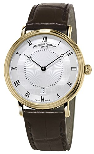 frederique-constant-mens-slim-line-gold-tone-stainless-steel-swiss-automatic-watch-with-silver-dial-