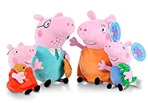 4-Pack Peppa pig Plush Toy Stuffed Doll