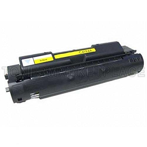 INKUTEN © Compatible Yellow Laser Toner Cartridge for Hewlett Packard (HP) C4194A