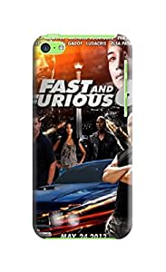phone accessory with fashionable Cool Fast and Furious design TPU phone protective case for iphone 5c