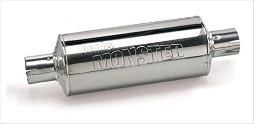 BANKS 53800 Monster Stainless Steel Muffler - 4 In. x 4 In. (4