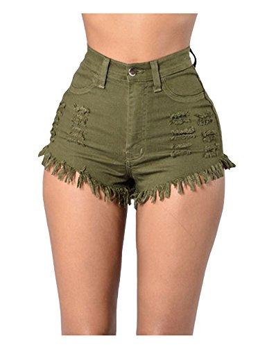 skinny Donna Armygreen Legou skinny Pantaloncini Legou Pantaloncini Donna 0dxpXnqwn