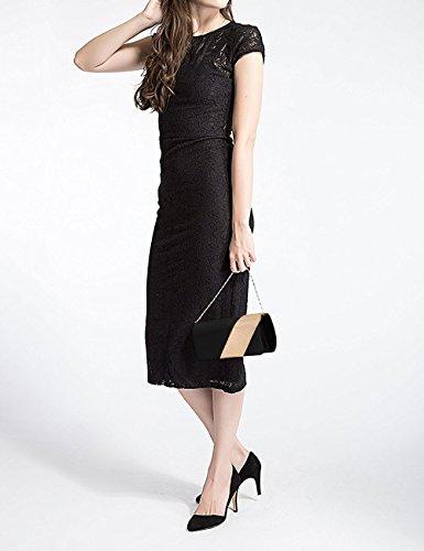 femme Pochette pour Noir 90S noir q4E6AAP