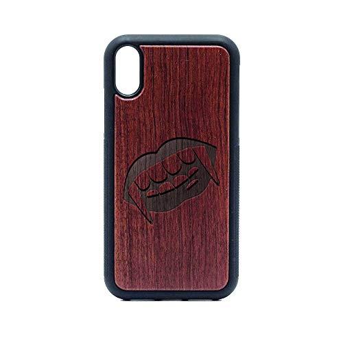 - Vampire JAR Love Romantic Comic - iPhone XR CASE - Rosewood Premium Slim & Lightweight Traveler Wooden Protective Phone CASE - Unique, Stylish & ECO-Friendly - Designed for iPhone XR