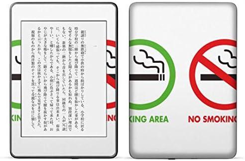 igsticker kindle paperwhite 第4世代 専用スキンシール キンドル ペーパーホワイト タブレット 電子書籍 裏表2枚セット カバー 保護 フィルム ステッカー 016185 たばこ 分煙