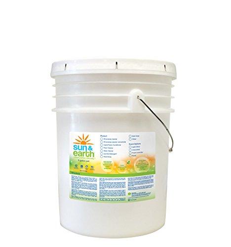 Sun & Earth Natural Laundry Detergent, Light Citrus, 640 Ounce