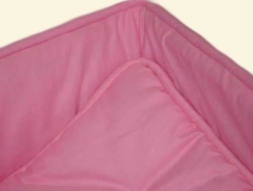 SheetWorld Cradle set - Solid Bubble Gum Pink Cradle Set - Made In USA