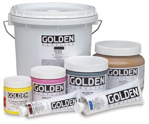- Golden Heavy Body Acrylic - Cadmium Red Medium Hue - 8 oz Jar