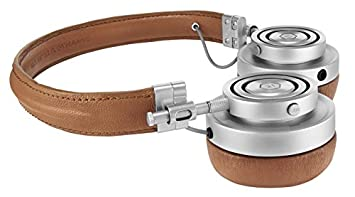 Master Dynamic MH30 Foldable Premium Leather On-Ear Headphones with Superior Sound Quality and Highest Level of Design Brown Leather