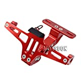 Red Universal Motorcycle Tail Tidy Fender