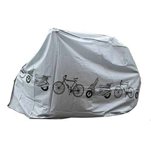 Yizhet Regenhoes Afdekzeil fietsponcho waterdicht Regenponcho fiets garage fiets hoes fiets beschermhoes Regenjas…