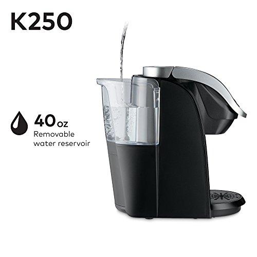 Keurig K250 Single Serve, K-Cup Pod Coffee Maker with Strength Control, Black by Keurig (Image #6)