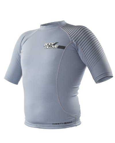 Body Glove Men's .5mm 1 TI-SI Titanium Insotherm Short Sleeve Wetsuit Top, X-Large by Body Glove