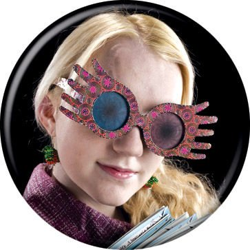 Harry Potter - Luna Lovegood - Pinback Button 1.25