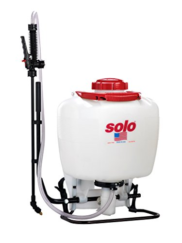 Solo 425-Deluxe 4-Gallon Professional Piston Backpack Sprayer