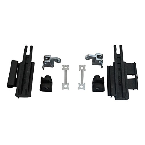 Bross BSR535+BSR536FBA 8 Pieces Sunroof Slider Guide Rail Set Left AND Right Side 811694522-3 for BMW E39 X5 E53 ()