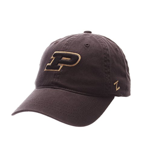 (ZHATS Purdue Boilermakers Scholarship Relaxed Fit Dad Cap - NCAA, Adjustable One Size Black Baseball Hat)