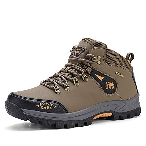 Men Pioneer Mid Rise Leather Hiking Boot Outdoor Climbing for sale  Delivered anywhere in USA