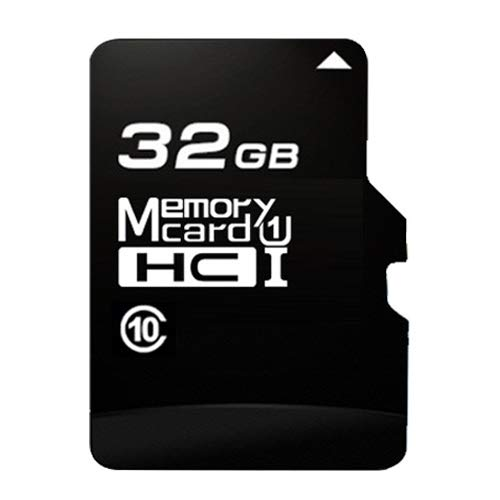 CAOMING 32GB High Speed Class10 Black TF (Micro SD) Memory Card by CAOMING