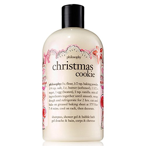 Philosophy Christmas Cookie Shampoo, Shower Gel & Bubble Bath - 16 oz
