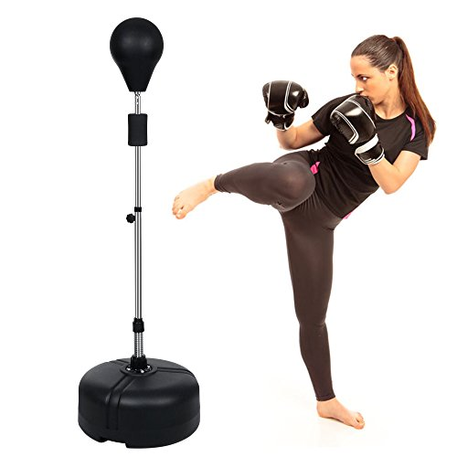 Punching Bag And Speed Bag With Stand - 8