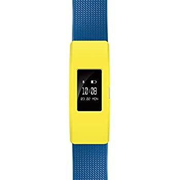 Binmer(TM) Slim Designer Sleeve Case Band Cover for Fitbit Charge 2 (Yellow)