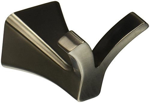 Delta Faucet 75235-SS Tesla Double Robe Hook, Stainless