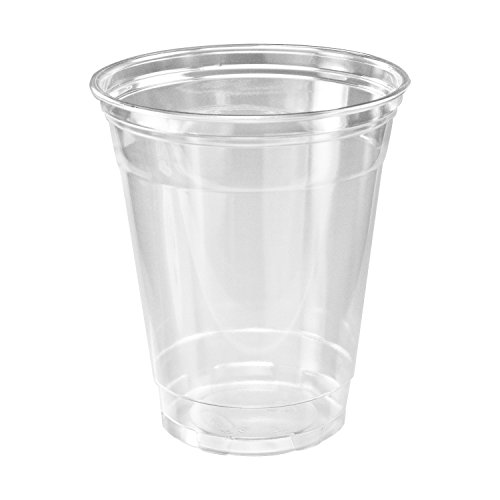 A World Of Deals Clear Plastic Cups - 100/12oz (Plastic Water)