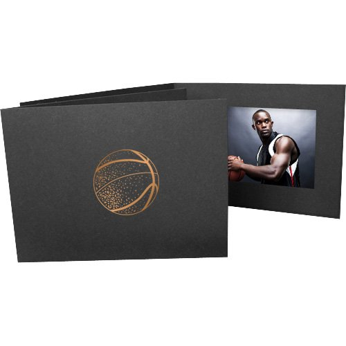 Basketball 4x6 Horizontal Cardboard Event Photo Folders (50 Folders) by Studio Style By Collectors Gallery