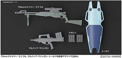 Bandai Hobby MG 1/100 GM Sniper II Gundam 0080 Action Figure by Bandai Hobby (Image #7)