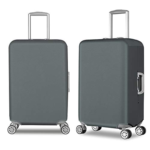 Travel Luggage Cover Durable Anti-Scratch Suitcase Protector Cover Fits 20-30 Inch Luggage(Waterproof Oxford Fabirc…