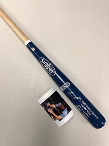 Jose Altuve Autographed Signed Houston Astros RARE WORLD SERIES Blue Dipped Baseball Bat GTSM Hologram & COA (Signed Autograph Baseball)