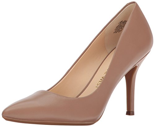 Image of Nine West Women's FIFTH9X9 LE Pump, Natural Leather, 7.5 M US