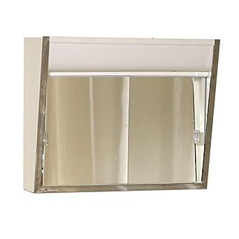 American Pride 700L Aluminum Medicine Cabinet, 2 Lite, No Outlet, 24u0026quot; X