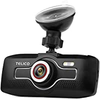 C35 Dash Cam 2.7 Inch LCD Full HD 1080p 170° Pro Car Dashboard Camera Auto Recording with G-Sensor, WDR, Night Vision, 8GB Micro SD Card Included