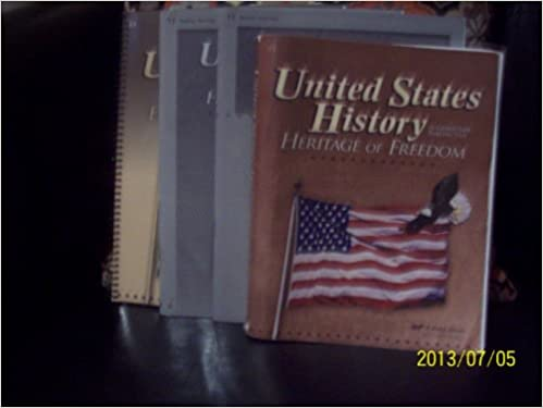 A Beka Grade 11 Teacher Guide With Curriculum United States History