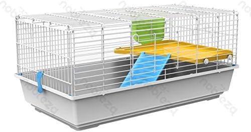 forpet® 001156 jaula para conejos, Jaula para Conejos Enanitos, casita para conejo, Jaula para conejo