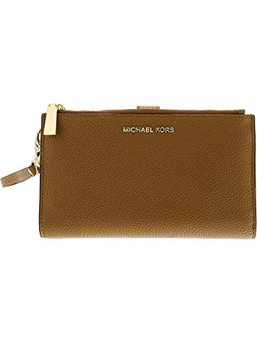 (MICHAEL Michael Kors Adele Double-Zip iPhone 7 Plus Wristlet)