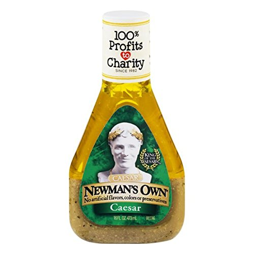 (Newman's Own Salad Dressing, Caesar, 16 Ounce)