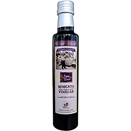 Papa Vince Balsamic Vinegar - NO SUGAR ADDED | Made in small batches by our family in Sicily, Italy | Aged 8-years in Oak and Chestnut wood. It has hints of Figs & Raspberry | 8.5 fl oz 9 NO PESTICIDES | NO INSECTICIDES | NO HERBICIDES | NON GMO NO ADDED SUGAR | NO ADDED SULFITES - made in small batches by our family in Sicily, Italy CLEAN FOOD: NO CARAMEL, NO FLAVORS, NO PRESERVATIVES ADDED - strictly made from grapes