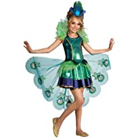 Rubies Peacock Costume for Girls