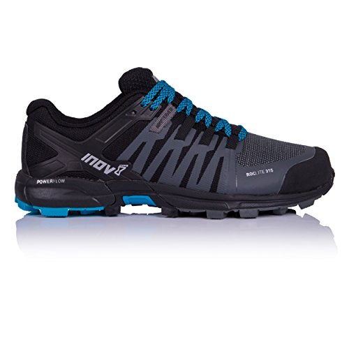 Inov-8 Men's Roclite 315 Trail Running Shoes Grey/Black/Blue 10