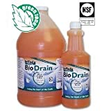 32 oz InVade Bio Drain Quart Restaurant Drain Gel Organic Treatment ~~ Eliminates Odors, Drain Flies, Phorid Flies, Fruit Flies, and prevention of 'Sugar Snake' in soda machine drip trays