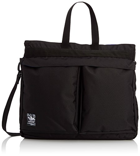 adidas Herren Tasche Classic Street Shopper, Black/Night Flash S15/White-Ash, 7.5 x 45 x 40 cm, 15 Liter, S20089