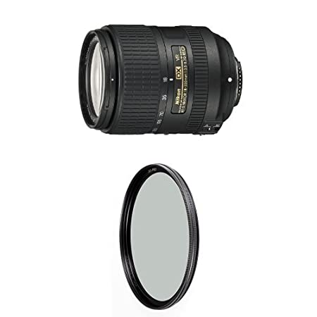 Nikon AF-S DX NIKKOR 18-300mm f//3.5-6.3G ED Vibration Reduction Zoom Lens with Auto Focus for Nikon DSLR Cameras