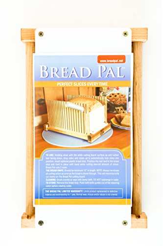 The Bread Pal Bread Slicer Maple And Birch Import It All