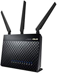 ASUS RT-AC1900P Router Dual-Band WiFi Router (Renewed)
